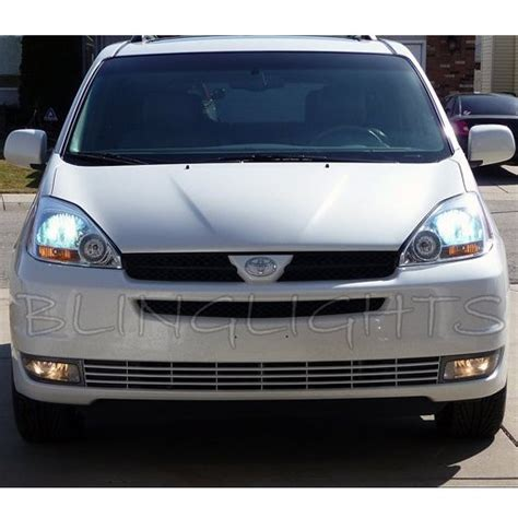 toyota sienna fog lights 2004 2005 toyota sienna bright white light bulbs for