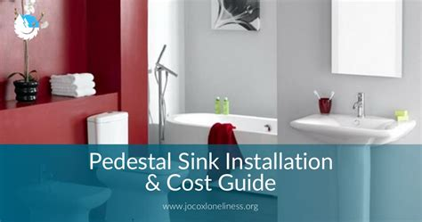 How Much Is A Pedestal Sink by Pedestal Sink Installation Cost Guide In 2019