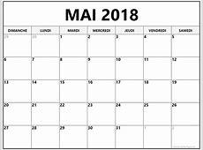 Calendrier de mai 2018 gratuit imprimer 7 Printable