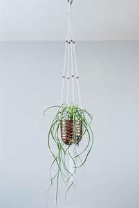 Suspension Pour Plante Interieur : suspension macram plante bymadjo cobanos d co ~ Teatrodelosmanantiales.com Idées de Décoration