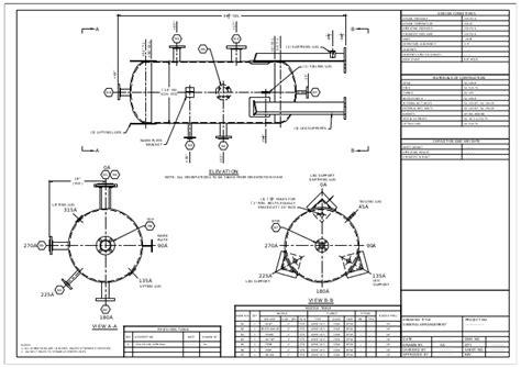 images end table with built in l pressure vessel general arrangement