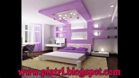 deco plafond chambre décoration chambre platre exemples d 39 aménagements