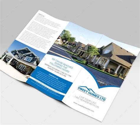 Best Brochure Template 24 Best Best Tri Fold Brochure Design Templates Images On
