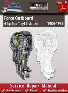 Force Outboard 4 Hp 1 Cyl 2