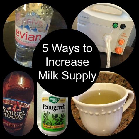 Naturally Increase Your Milk Supply Babies Pregnancy