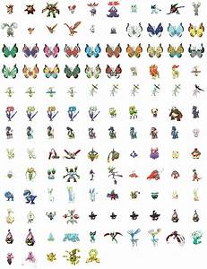 All Shiny Pokemon Gen 6 Images | Pokemon Images