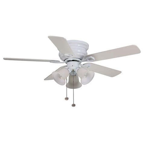 Home Depot Ceiling Fans Hton Bay by Hton Bay Cf544h Peh Clarkston 44 In White Ceiling Fan