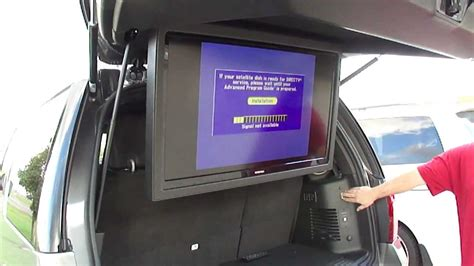 ford expedition   flip  tv motorized lcd screen