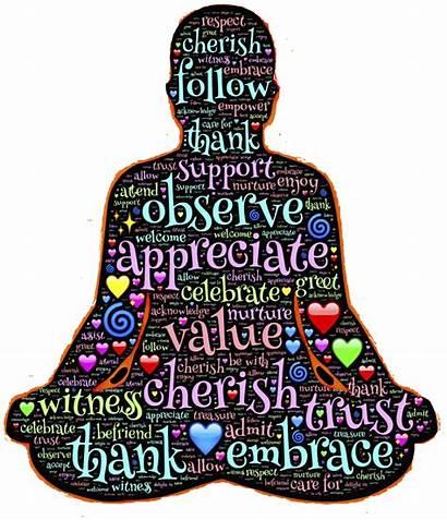 Meditation Typography Words Signs Symbol Transparent Svg