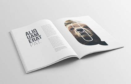 A4 210x297mm landscape magazine with matte and glossy finish. 16 Free A4 Magazine Mockup PSD - Smashfreakz | 포토샵 actions ...