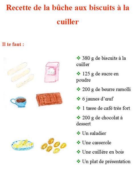 comment cuisiner une poule imprimer la recette de la bûche de noël aux biscuits
