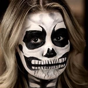 Skeleton Halloween Makeup | Tutorial | POPSUGAR Beauty
