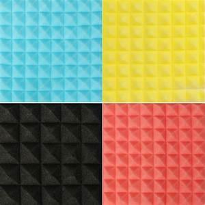 Akustická pěna barevná