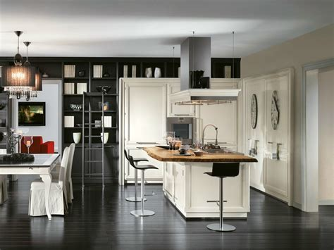 cucina componibile  isola living lottocento