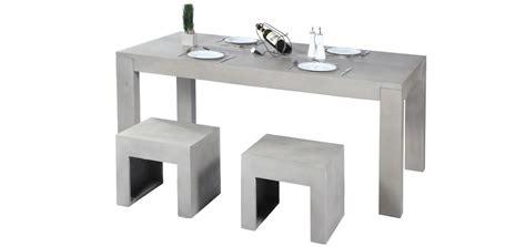 table de cuisine grise table en béton cuisine grise petit prixmon coin design