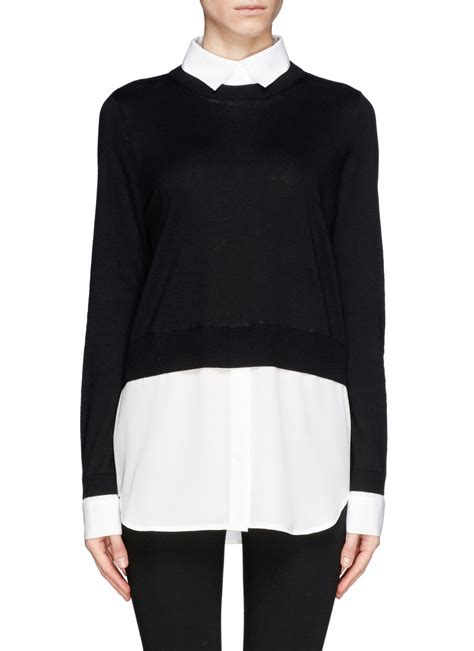 sweater blouse combo sweater and blouse combo blouse no bra