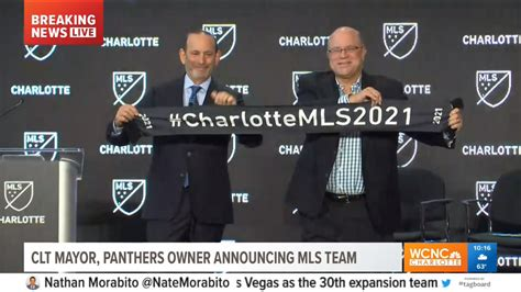 LIVE BLOG: MLS announces Charlotte soccer team franchise ...
