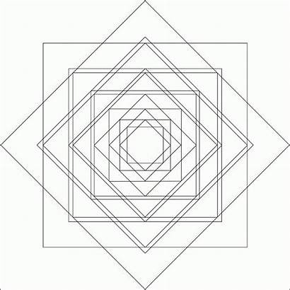 Coloring Sacred Geometry Pages Mandala Colouring Geometric