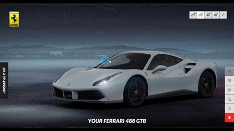 Build Your Own Ferrari 488 Gtb Ferrari Official Website
