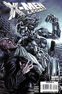 X Men Legacy Comic Book Cover Photos Scans Pictures