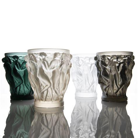 lalique vase lalique bacchantes large vase gold luster