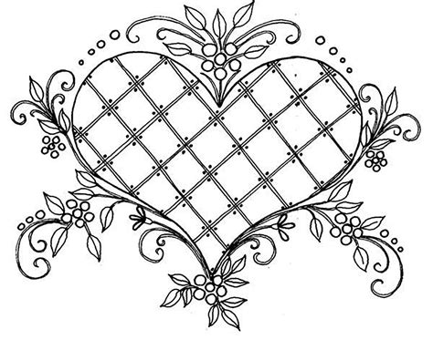love beautiful drawing vintage adult coloring pages