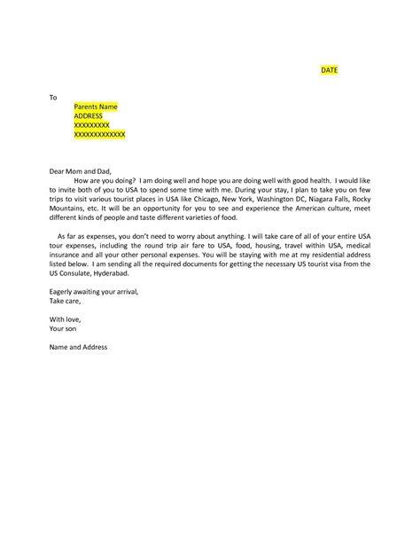 Canada Visa Sponsor Letter Sample | Aderichie.co