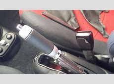 How to remove and replace the emergency brake handbrake