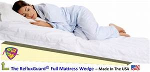 Sleeping mattress bed wedge for acid reflux disease for Bed wedge for heartburn
