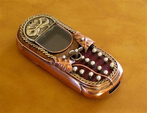 Awesome Steampunk Cell Phones (15 Pics) Izismilecom