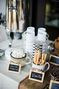 21, Hot, Chocolate, Bar, Ideas, For, Your, Winter, Wedding