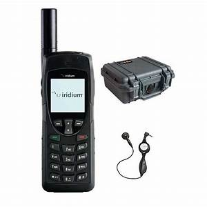 Iridium 9555 Satellite Phone Deluxe Package ...