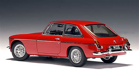 AUTOart: MGB GT MKII - Red (56601) in 1:43 scale - mDiecast