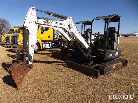 bobcat   mini excavat auctions  proxibid