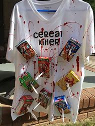 DIY Cereal Killer Halloween Costume