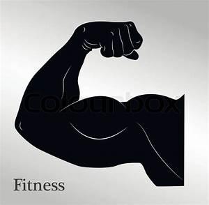 U0026quot Cartoon Biceps  Man U0026 39 S Arm Muscles  Vector Eps10 U0026quot
