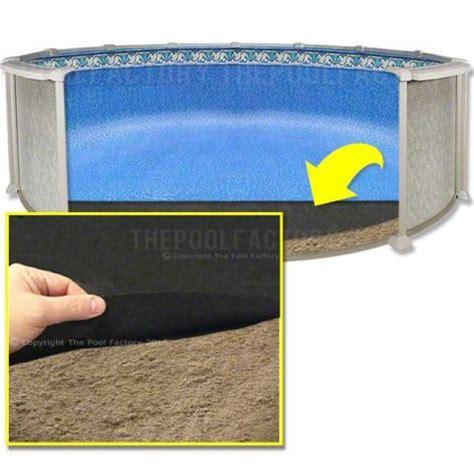 pool liner floor mats above ground pool liner pad