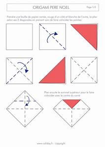 Origami Facile Noel : origami p re no l page 1 laine origami p re noel ~ Melissatoandfro.com Idées de Décoration