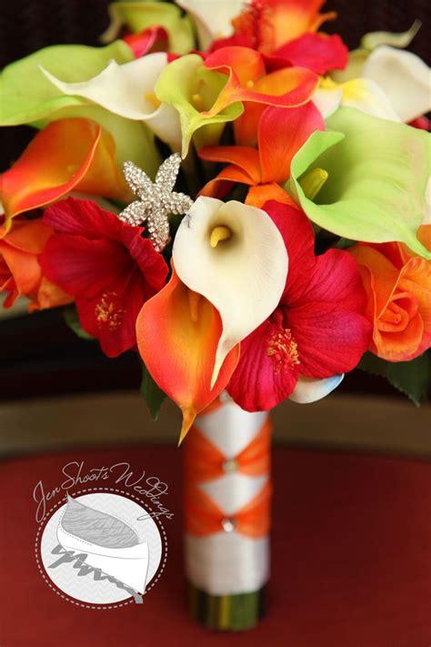 tropical wedding bouquet   destination wedding
