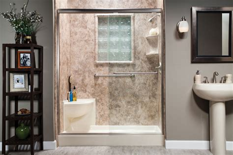 slide door for bathroom tub to shower conversions peoria walk in shower