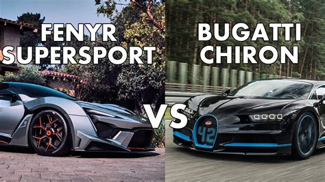 Sport Vs Supersport by W Motors Fenyr Supersport Vs Lykan Hypersport