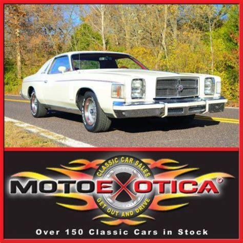 Where Is The Chrysler 300 Built by Buy Used 1979 Chrysler 300 31 050 Original 1 Of