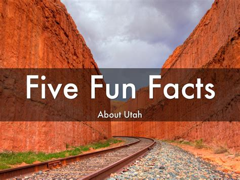 Fun Facts About Utah by vc4481