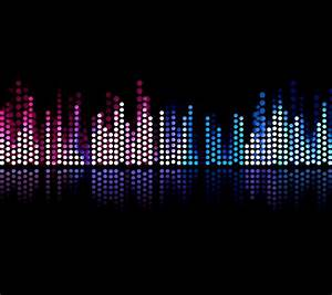music equalizer wallpaper