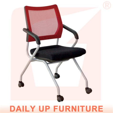 mesh office chair with rubber wheels college student
