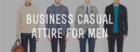 business casual mens attire dress code explained
