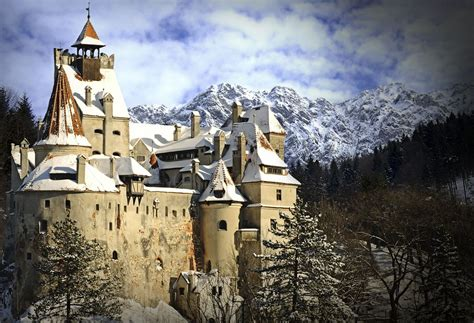 real dracula castle  transylvania  romania