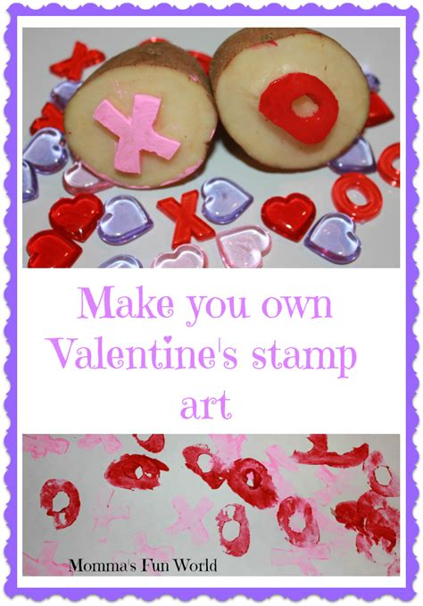 Momma's Fun World Make Your Own Valentine's Stamps