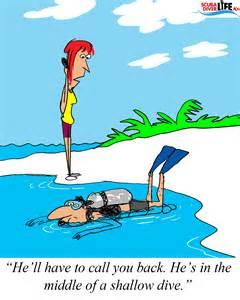 Scuba Diving Cartoon