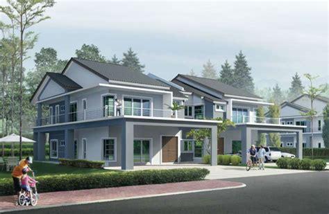 garden residence  storey semi detached house langit saujana sdn bhd